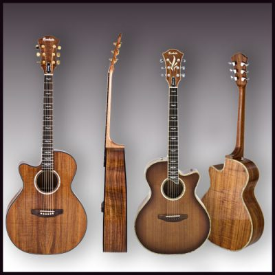 photography of accoustic-guitars