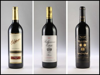 photography of wine bottles